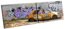 Graffiti Wall Car Urban - 13-0893(00B)-MP14-LO